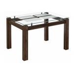 Стеклянный стол Бран орех кантри (LM)