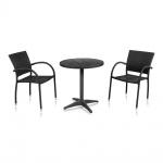 Комплект мебели для кафе Siena-1 (T-159A / Y-272-BLACK)(AM)