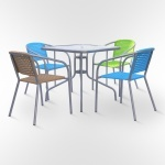 Набор мебели для кафе (ХRB-035-D80х80)(AM)