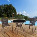 Комплект мебели для кафе Milton-1 (T-252А / Y-137B -GOLDEN BROWN)(AM)