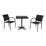 Комплект мебели для кафе Siena-2 (T-159В / Y-272-BLACK)(AM)
