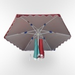 Зонт для дачи и кафе - 340см. (UM-340/6D)(AM)