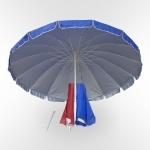Зонт для дачи и кафе - 300см. (UM-300/16k)(AM)