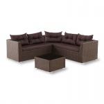 Модульный комплект мебели из иск. ротанга (S80)(AM)