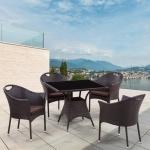 Комплект мебели из иск. ротанга Napoli-2 (T190B-2/Y-197B)(AM)
