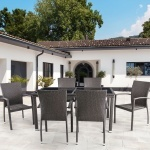 Комплект мебели из иск. ротанга (T246B/Y-274B)(AM)