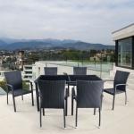 Комплект мебели из искусственного ротанга (T246A/Y-274A)(AM)