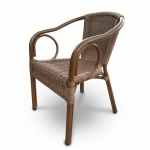Плетеное кресло из искусственного ротанга (A-2010A)(AM)