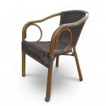 Плетеное кресло из искусственного ротанга (A-2010B)(AM)