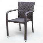 Плетёный стул из искусственного ротанга (А-2001В)(AM)
