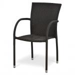 Плетёный стул из искусственного ротанга (Y282B)(AM)