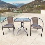 Комплект мебели для балкона Асоль-2А (TLH-037А/073А-60)(AM)