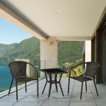 Комплект мебели для балкона из искусственного ротанга (Y137C\T25)(AM)