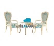 Столик чайный Милано 8801 квадратный + 2 кресла 528 (MK)