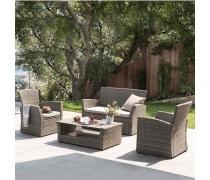 Комплект мебели с диваном AFM-405G Brown (AM)