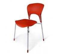 Стул пластиковый SHF-003-DR Red (AM)