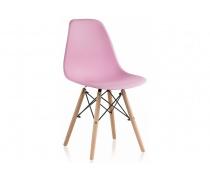 Пластиковый стул Eames PC-015 light pink