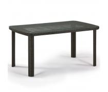 Плетеный стол T51A-W53-150x85 Brown (AM)