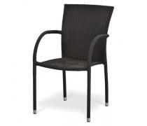 Плетеный стул Y282A-W52 Brown (AM)