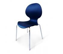 Стул пластиковый SHF-008-B Blue (AM)