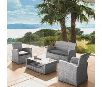 Комплект мебели с диваном AFM-405B Grey (AM)