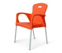 Стул пластиковый XRF-065-BO Orange (AM)