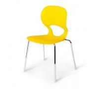Стул пластиковый SHF-056-Y Yellow (AM)
