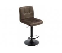 Барный стул Paskal vintage black / brown