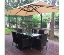 Зонт для кафе AFM-2.4x3.3-Beige (AM)