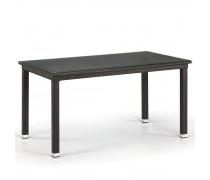 Плетеный стол T256A-W53-140x80 Brown (AM)