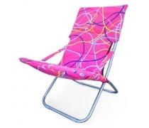 Кресло складное Белла-3 CHO-134-1C Pink (AM)