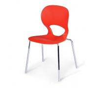 Стул пластиковый SHF-056-R Red (AM)