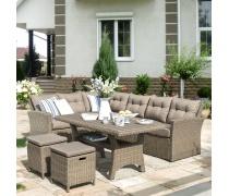 Комплект плетеной мебели AFM-307B Beige (AM)