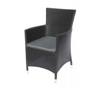 Плетеное кресло Y189D Black (AM)