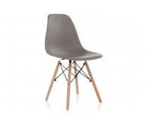 Пластиковый стул Eames PC-015 серый