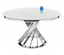 Стол Twist steel / white (LM)