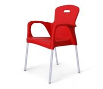 Стул пластиковый XRF-065-BR Red (AM)