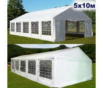 Шатер-павильон AFM-1029W White (5х10) (AM)