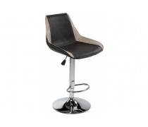 Барный стул Kozi черный / серый