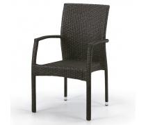 Плетеный стул Y379A-W53 Brown (AM)