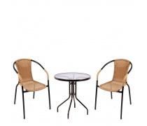 Комплект мебели  Асоль-1CLB TLH-037С-TLH060-D60 Light Beige (AM)