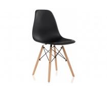 Пластиковый стул Eames PC-015 черный