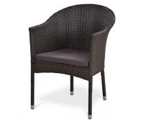 Кресло плетеное Y350G-W53 Brown (AM)