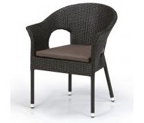 Плетеное кресло Y97B-W53 Brown (AM)