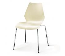 Стул пластиковый SHF-01-W White (AM)