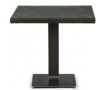 Плетеный стол T606SWT-W53-80x80 Brown (AM)