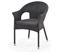 Кресло плетеное Y97A Black (AM)