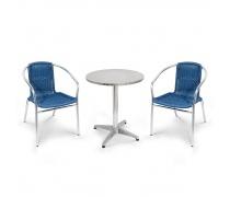 Комплект мебели LFT-3199E/T3127-D60 Blue (2+1) (AM)