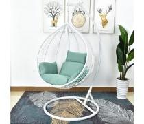 Подвесное кресло AFM-168A-L White/Green (AM)