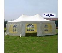 Шатер-павильон AFM-1054HF Beige (5х6.8) (уп. 2 кор.) (AM)
